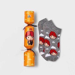 Harry Potter Ron weasley Christmas cracker socks s